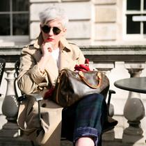 30張街拍告訴你 牛津鞋時髦起來不比高跟鞋差-繆斯示范
