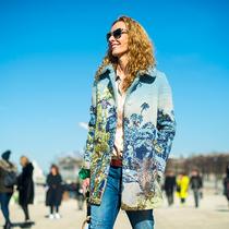 2015秋冬巴黎时装周街拍 Day3