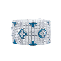 腕间奢华 高级珠宝的宽手镯时代