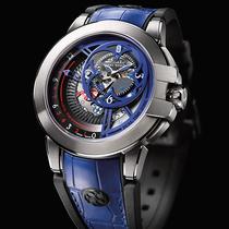 海瑞温斯顿海洋Ocean系列双时区逆跳功能Only Watch特别版腕表