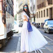 我眼里的夏日就是街头飞扬的裙角