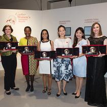 卡地亚灵思涌动女性创业家奖 宣布2015年度获奖名单,并进入十周年庆倒计时