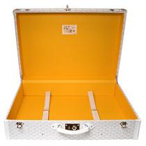 与Goyard手提行李箱一同出行的艺术-经典工艺