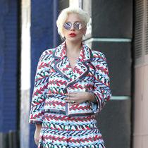 原來Lady Gaga美起來也可以很驚艷-明星街拍