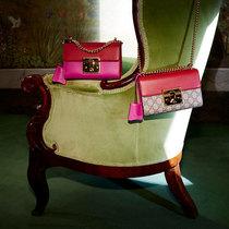 古驰文艺少女的时光宝盒Gucci全新Padlock系列手袋