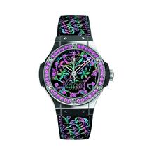宇舶表Big Bang刺绣腕表 融合的艺术再现女性极致魅力