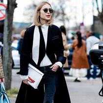 春天的大衣薄才时髦 任何身高都能穿好它