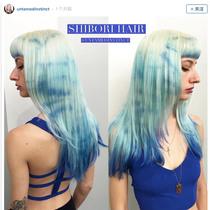 2016夏日新潮流 扎染头发正流行