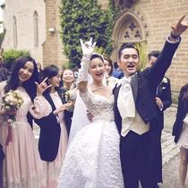 袁弘张歆艺德国古堡婚礼 不可缺少Jimmy Choo的甜蜜时刻
