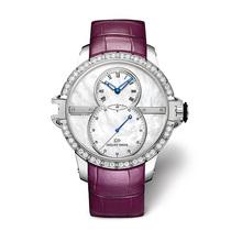 雅克德罗首枚女装大秒针运动腕表,运动精神糅合柔美韵致