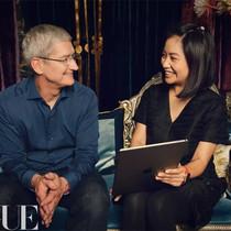 当Rihanna龙袍背后的女人遇上苹果CEO蒂姆·库克