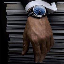 名士克里顿系列双时区动力储存腕表 环球旅人的精美机械