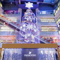 魅力星光 悦享晶璨 施华洛世奇「璀璨圣诞树」耀北京