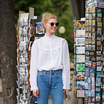 2017白衬衫这么穿 你就是时髦本人