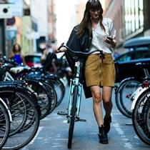 你和It girl之间 差的可能就是一台单车