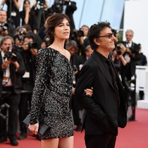 CHARLOTTE GAINSBOURG IN SAINT LAURENT - CANNES