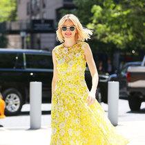 穿上印花裙 全世界都是我的绿叶-风格示范