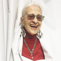 95岁的时尚老顽童 活成了19岁少女的模样 -风格示范