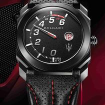 宝格丽、玛莎拉蒂联袂演绎机械美学 独家呈现两款全新限量Octo腕表