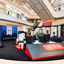 TUMI 举办时尚消费者周  庆祝19 DEGREE铝合金限量版磨砂黑 x 玫瑰金色行李箱系列隆重上市