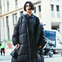 你不够时髦 一定是因为外套不够大-时尚街拍