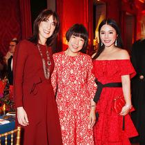 余晚晚主持2018肯辛頓宮中國之夜,Vogue主編張宇受特邀出席-圈內名流