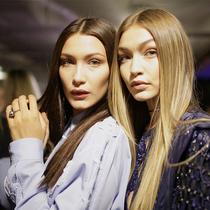 Gigi Hadid和Bella Hadid的时装档案-风格示范