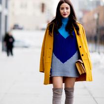 任何身型 都能找到一条属于自己的毛衣裙-衣Q进阶