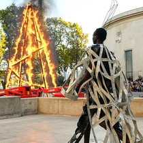 #SuzyPFW Rick Owens' Burning Tower-Suzy Menkes专栏