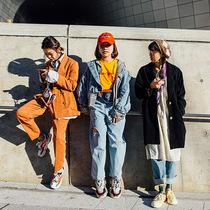 首爾時裝周街拍第二日-時尚街拍