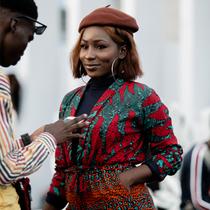 非洲時尚風情:拉各斯時裝周的最佳街拍Day2-時尚街拍