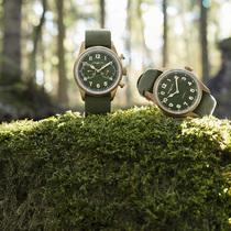 万宝龙全新1858系列腕表:卡其绿色回归自然-摩登腕表