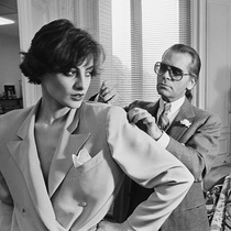 Karl Lagerfeld的25位时尚缪斯-时尚圈