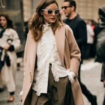 巴黎时装周街拍:第五日-时尚街拍