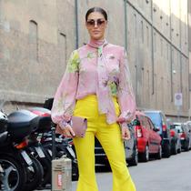 又是一年樱花季 快把粉色花朵穿上身-时尚街拍