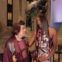 #CNILux: Naomi Campbell Speaks OnTheEve Of The Condé Nast International Luxury Conference InCapeTown-Suzy Menkes專欄