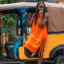 """""""時裝可以改變生活"""":拉各斯時裝周創始人Omoyemi Akerele如何重振尼日利亞紡織業-時尚圈"""