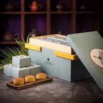 匠心傳承,2020長富宮飯店黃油起酥月餅禮盒開售-生活資訊