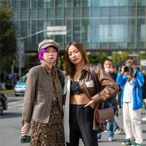 上海时装周街拍·第三天-时尚街拍