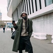 巴黎時裝周街拍街拍精選-時尚街拍