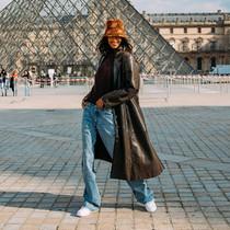如何穿著古著或純素皮夾克?讓18歲人氣模特Mona Tougaard告訴你-時尚街拍