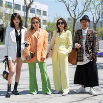 上海時裝周街拍-時尚街拍