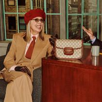 風格獨特的Diane Keaton亮相《古馳寵兒》脫口秀 -品牌新聞