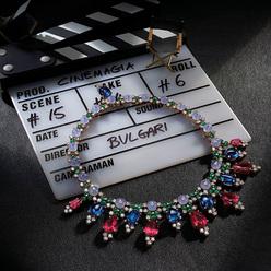 流光溢彩 演繹耀目風情 BVLGARI寶格麗全新Cinemagia光影奇遇高級珠寶系列于上海璀璨發布