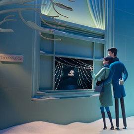 妙趣穿越梦幻时光 蒂芙尼2014圣诞橱窗温情揭幕