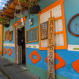 哥倫比亞小鎮瓜塔佩:一個讓快門停不下來的彩色世界