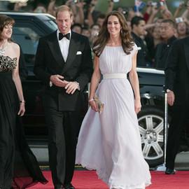 凱特與威廉的11個紅毯高光時刻