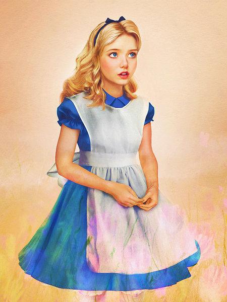 如果这个世界真有白雪公主与睡美人,她们可能长这样