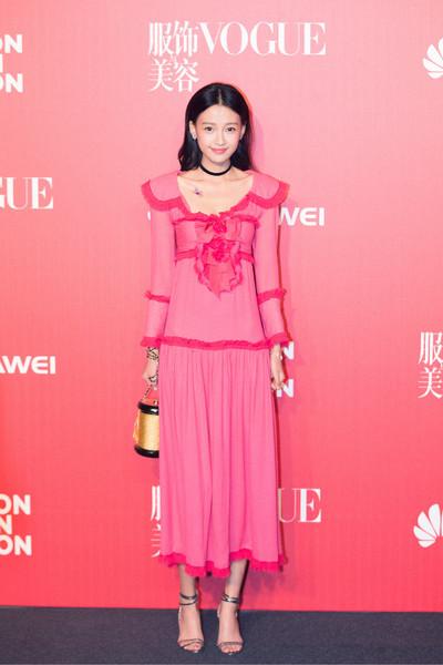 白百何, 陈伟霆, 江疏影,刘雯和孙怡出席《VOGUE服饰与美容》十一周年庆祝派对