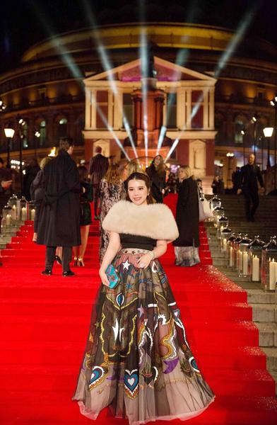 国际时尚科技投资人余晚晚亮相英国时尚大奖